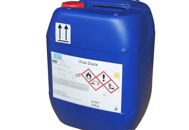 Viva Duox. Υγρό λευκαντικό με ενεργό οξυγόνο.